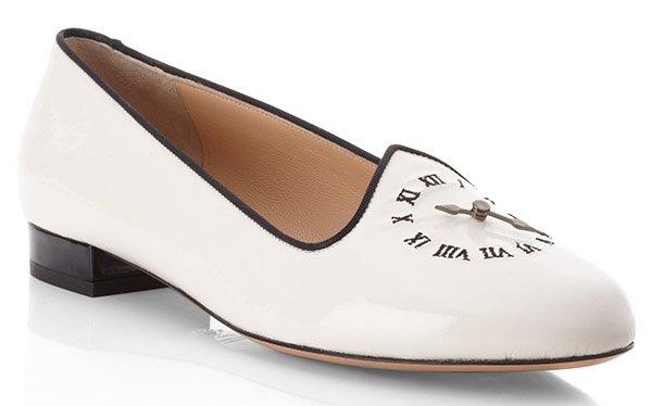 Charlotte Olympia Fashionably Late Slipper