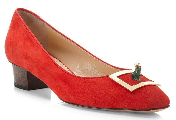 Charlotte Olympia Kiss Me Quick! Shoe