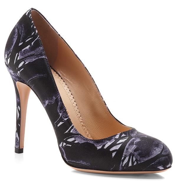 Charlotte Olympia Shadow Jenny Court Shoe