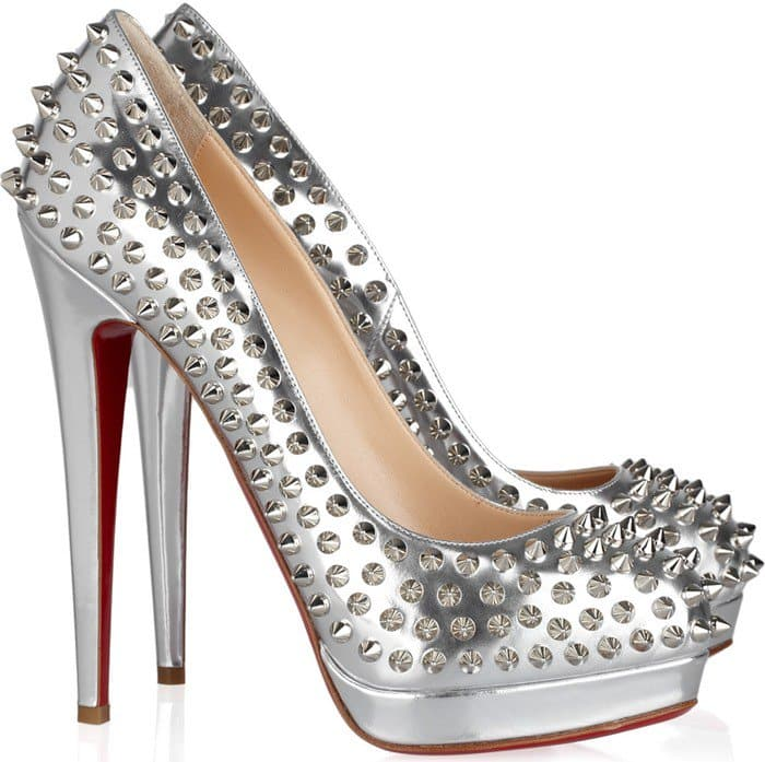 Christian Louboutin Alti Spiked Red Sole Pumps