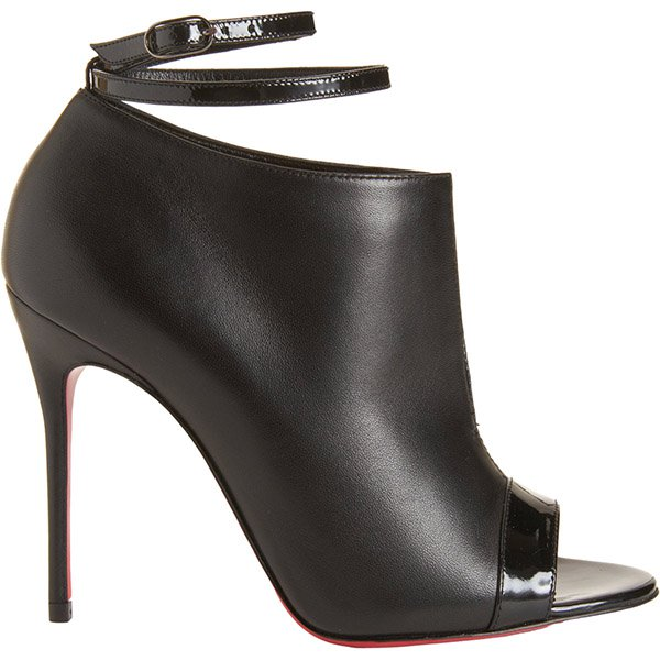 Christian Louboutin Diptic Booties in Black