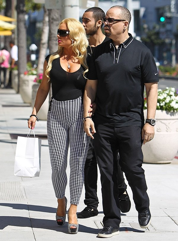 Coco Austin With Husband Ice-T