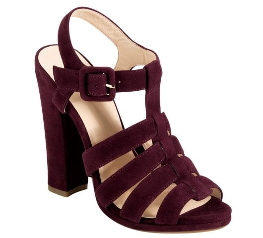 Cole Haan Jen & Oli Chelsea Collection Sandals in Burgundy Suede