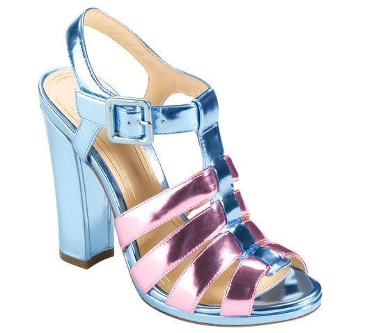 Cole Haan Jen & Oli Chelsea Collection Sandals in Metallic Light Blue-Pink