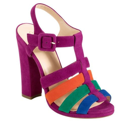 Cole Haan Jen & Oli Chelsea Collection Sandals in Multicolor Suede