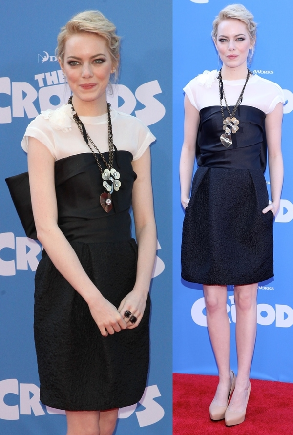 'The Croods' premiere