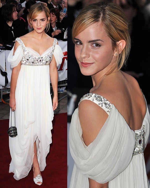 Emma Watson The National Movie Awards held at the Royal festival Hall - Arrivals London, England