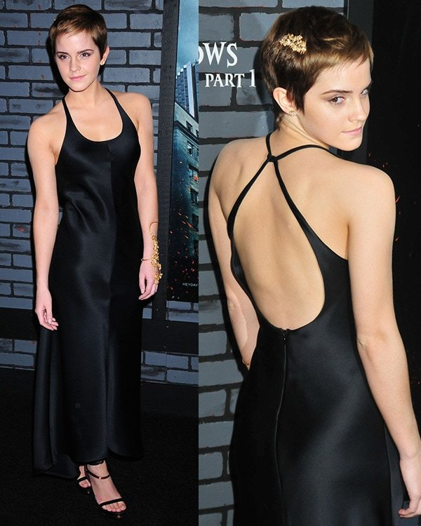 Emma Watson The premiere of 'Harry Potter and the Deathly Hallows - Part 1' at Alice Tully Hall - Arrivals New York City, USA