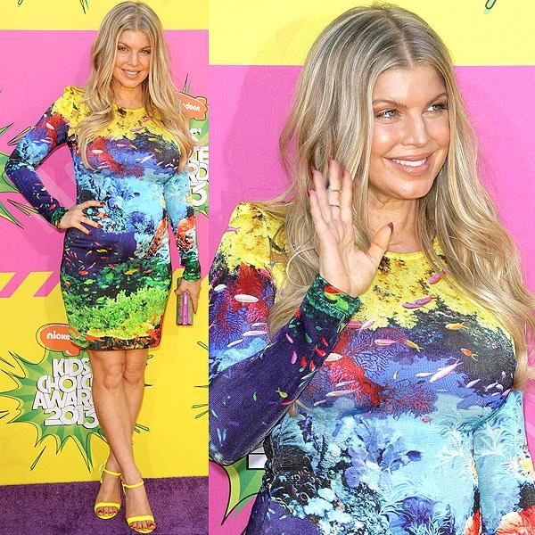 Fergie 2013 Kids' Choice Awards