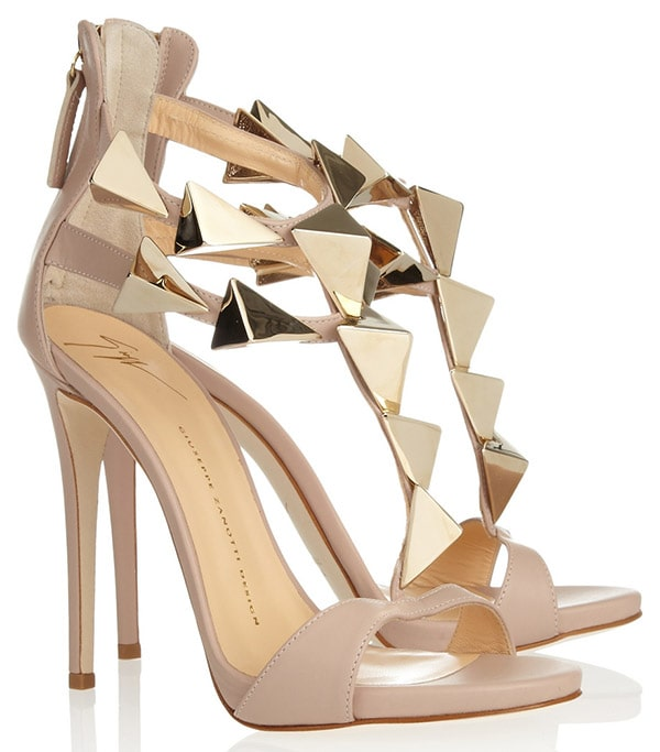Giuseppe Zanotti Pyramid Stud Leather Sandals