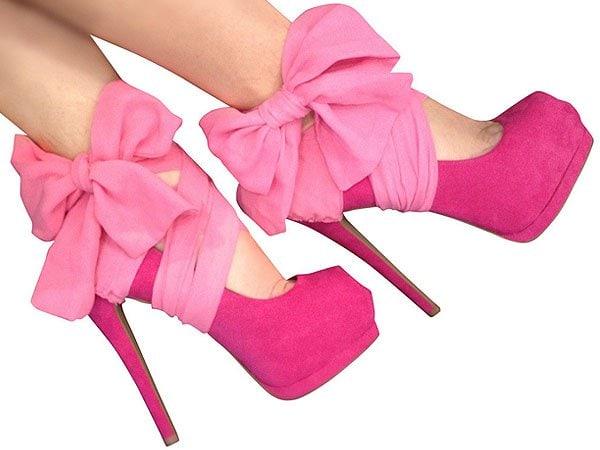 Heel Condoms in Pink-BC1