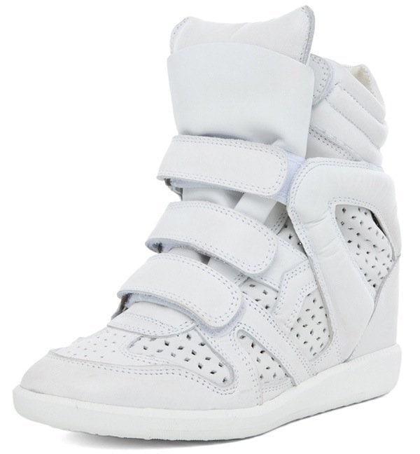 ISABEL MARANT Brian Sneaker in Craie $640