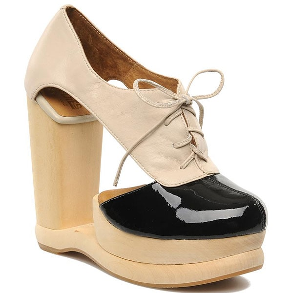 "Jeffrey Campbell ""Benched"" Shank-Less Oxfords"