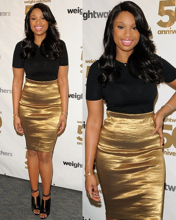 Jennifer Hudson celebrates Weight Watchers 50th anniversary with a Center dedication to company founder, Jean Nidetch at Weight Watchers Center NYC on March 25, 2013, in New York City