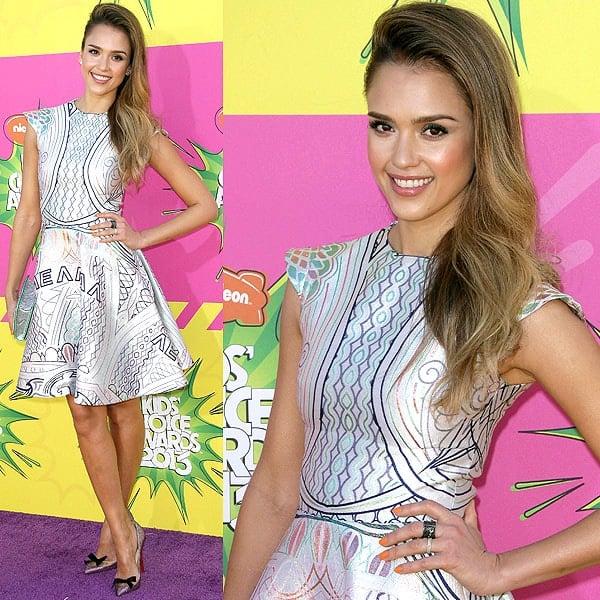Jessica Alba 2013 Kids' Choice Awards