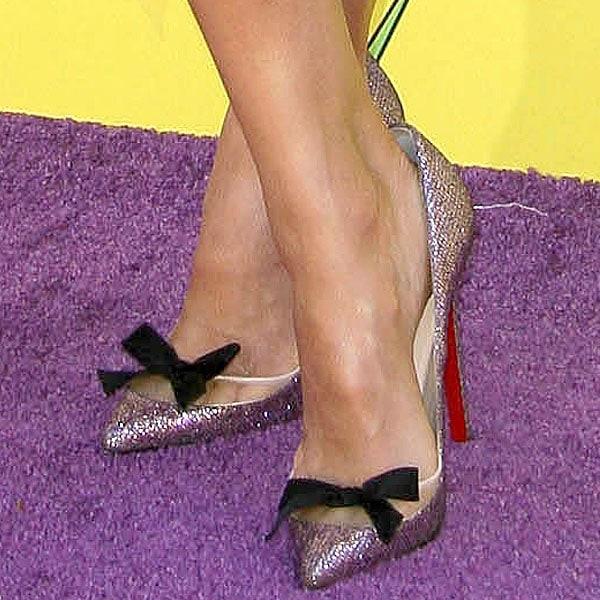 Jessica Alba Christian Louboutin Love Me