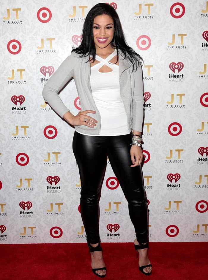 Jordin Sparks at Justin Timberlake's The 20/20 Experience album release party