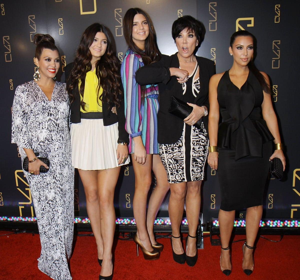 Kylie Jenner, Kendall Jenner, Kris Jenner, and Kim Kardashian like to make fun of Kourtney Kardashian's short height
