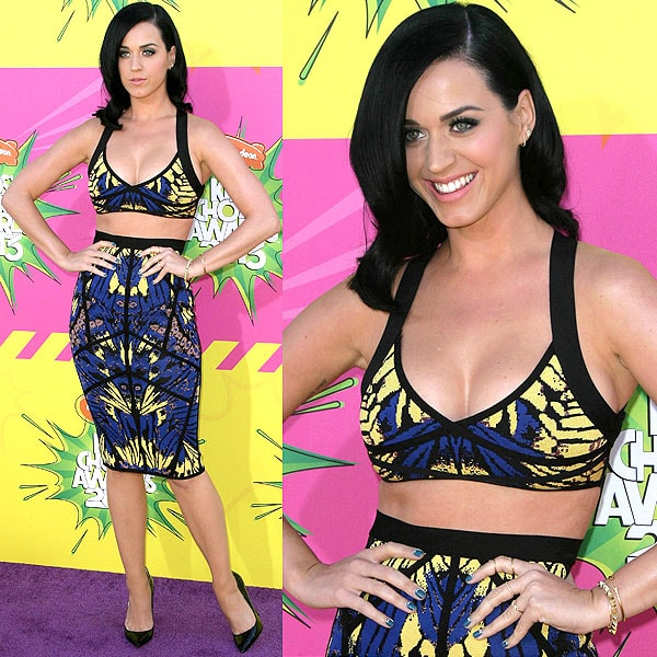 Katy Perry 2013 Kids' Choice Awards