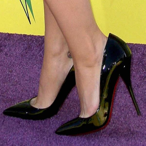 Katy Perry Christian Louboutin Batignolles