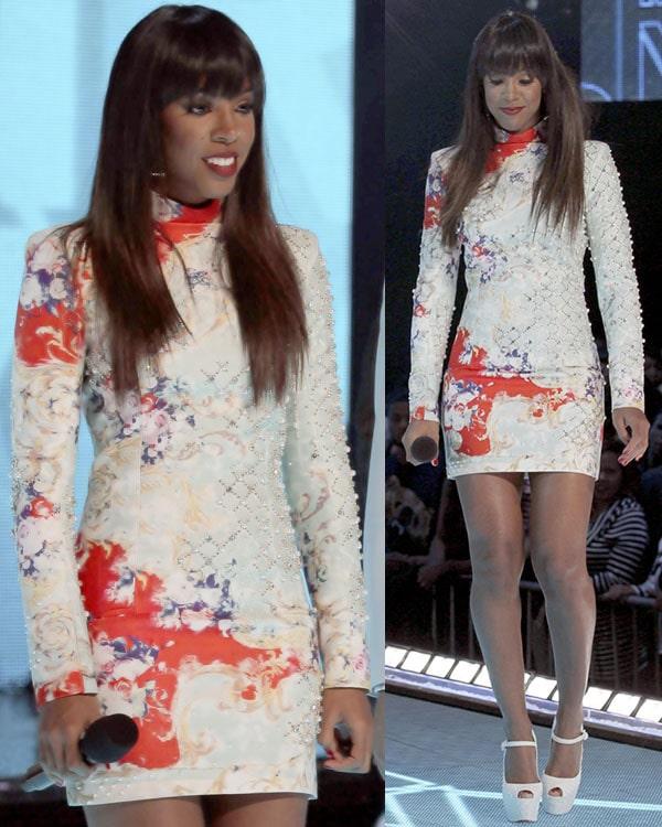 Kelly Rowland at BET's Rip The Runway 2013 2