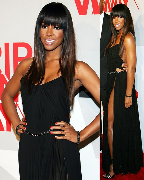Kelly Rowland at BET's Rip The Runway 2013