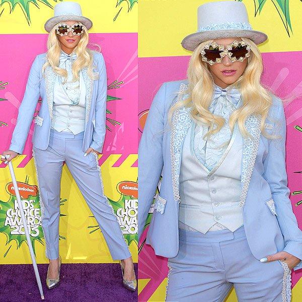 Kesha 2013 Kids' Choice Awards