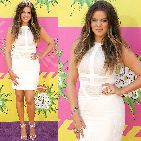 Khloe Kardashian 2013 Kids' Choice Awards