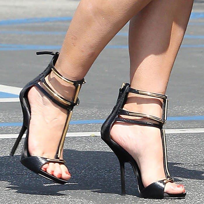 Kim Kardashian in Giuseppe Zanotti Sandals