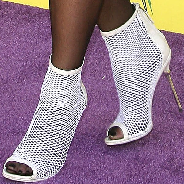 Kylie Jenner in Brian Atwood Michelet