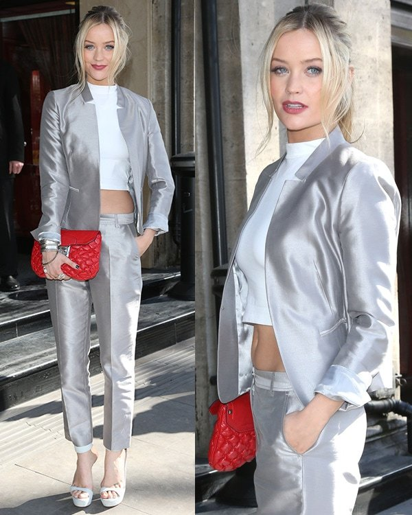 Laura Whitmore at The TRIC Awards 2013 held at the Grosvenor House Hotel - Arrivals