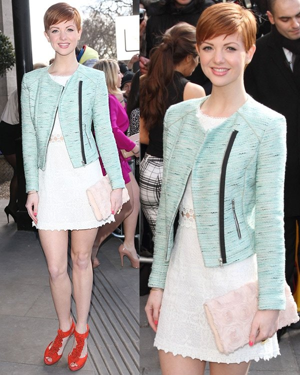 Lucy Dixon The TRIC Awards 2013 held at the Grosvenor House Hotel - Arrivals