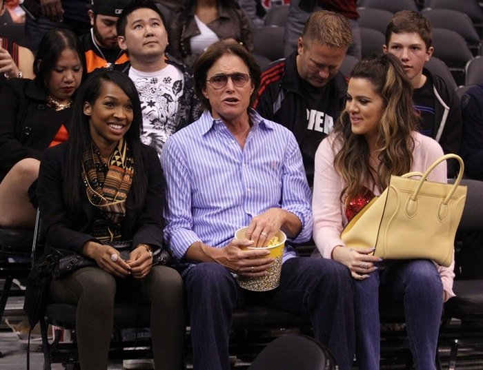 Malika Haqq, Bruce Jenner, and Khloe Kardashian