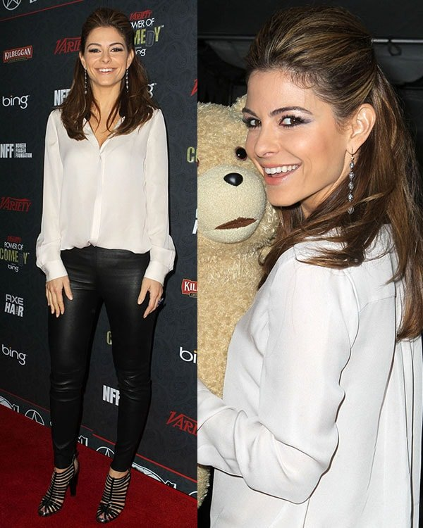 Maria Menounos 3rd Annual Variety Power of Comedy Awards at Avalon Hollywood - Arrivals Los Angeles, California