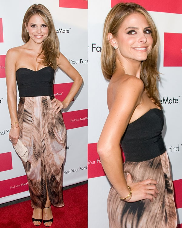 Maria Menounos Find Your FaceMate.com Launch Party at the STK Rooftop New York City, USA