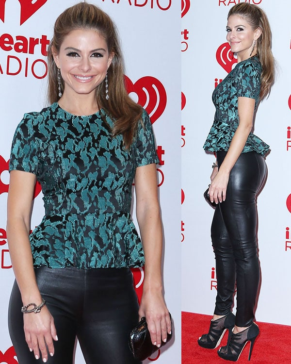 Maria Menounos iHeart Radio Music Festival 2012 Day 2 held at The Grand Garden Arena at MGM Grand Resort and Casino - Arrivals Las Vegas, Nevada