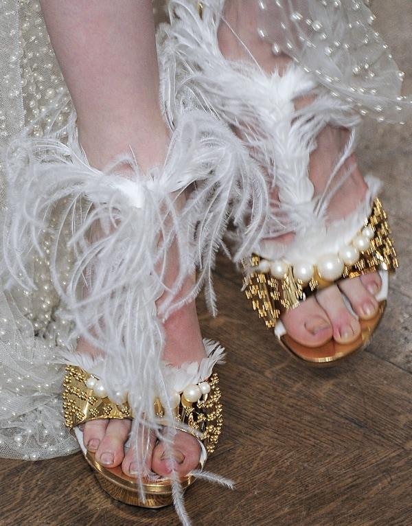 Paris Fashion Week - Autumn/Winter 2013 - Alexander McQueen - Catwalk