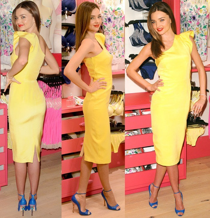 """Victoria's Secret Angels Launch """"Fabulous"""" Collection at the Herald Square Store"""
