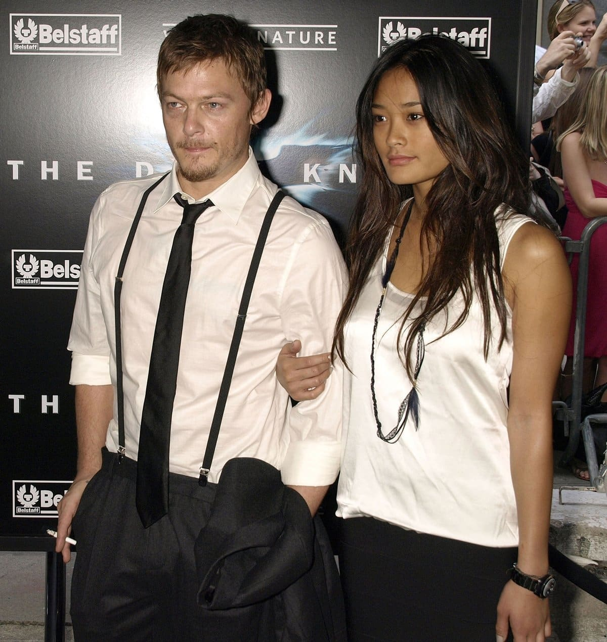 Model Jarah-Evelyn Makalapua Mariano and Norman Reedus dated from April 2008 to 2009