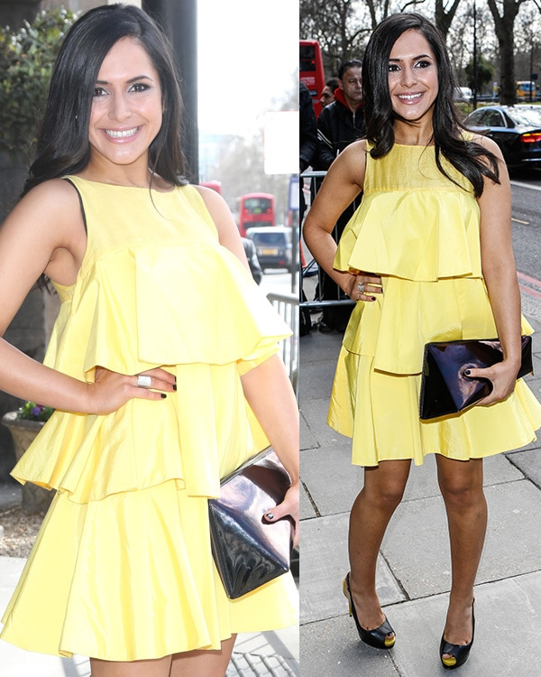 Nazaneen Ghaffar at The TRIC Awards 2013 held at the Grosvenor House Hotel in London, England, on March 12, 2013