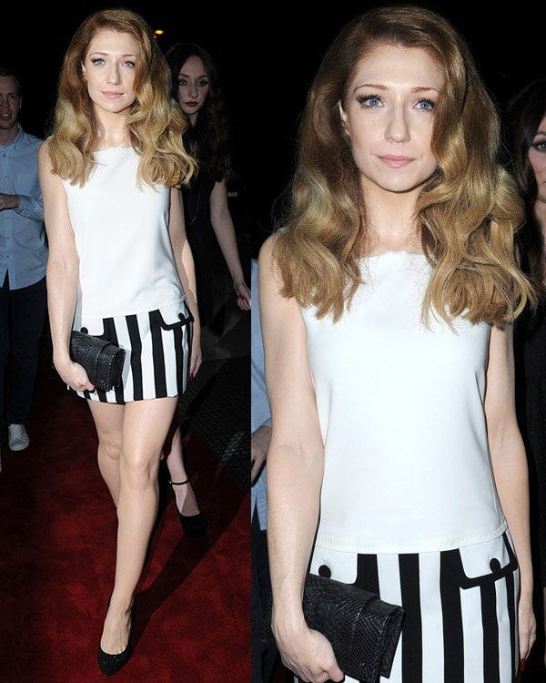 Nicola Roberts at Girls Aloud end of tour party held at Vermilion & Cinnabar on March 21, 2013