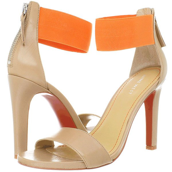 "Nine West ""Lookglobal"" Ankle-Strap Sandals"