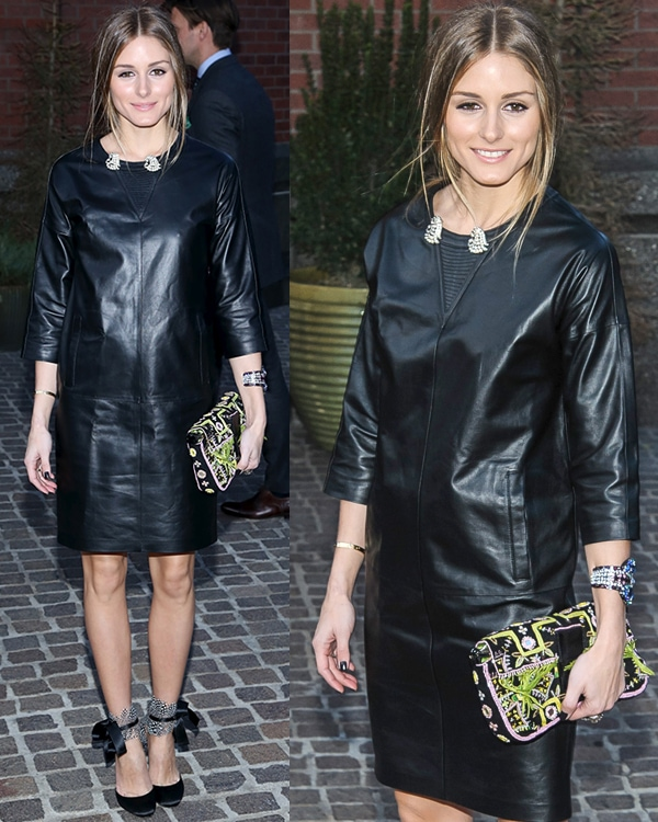 Olivia Palermo at The Cinema Society and Jaeger-LeCoultre screening of Open Road Films' 'The Host' at Tribeca Grand Hotel on March 27, 2013