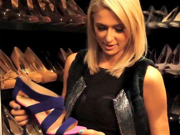 Paris Hilton shoe closet 2
