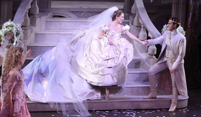 Curtain call for the premiere of 'Cinderella'