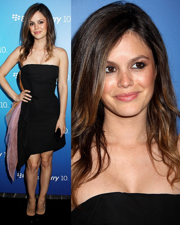 Rachel Bilson at The US launch of the new BlackBerry Z10 held at Cecconi's West Hollywood on March 20, 2013
