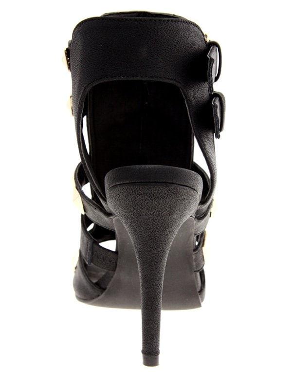 River Island Gladiator Studded Sandals