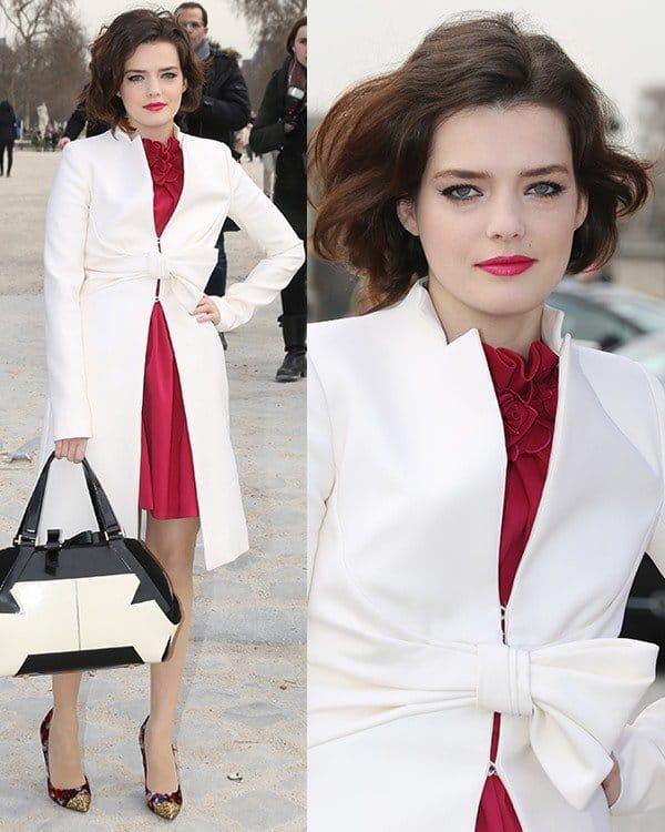 Roxane-Mesquida-at-Paris-Fashion-Week-Autumn-Winter-2013-Valentino