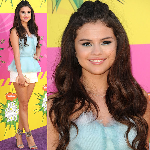 Selena Gomez 2013 Kids' Choice Awards