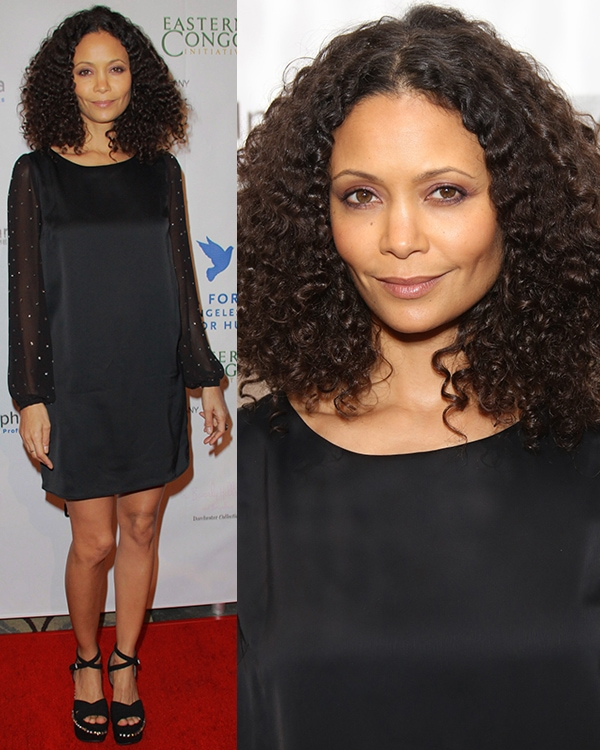 Thandie Newton Cinema For Peace Foundation's Gala For Humanity at Hotel Beverly Hills
